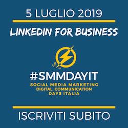 Linkedin for Business, Strategia e utilizzo. Corso con esercitazioni per trovare clienti. 5 luglio 2017, Milano