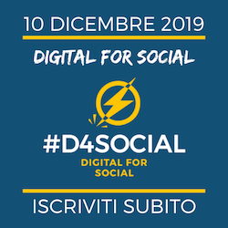 Digital for Social #D4Social